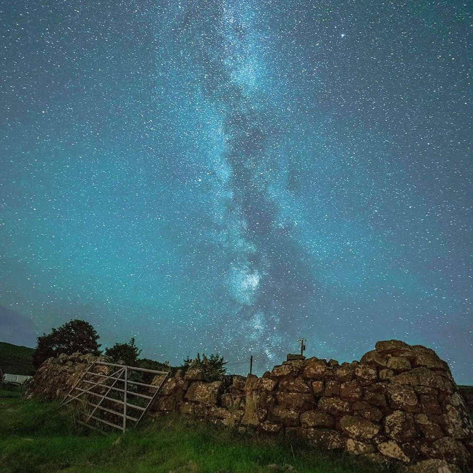 My first attempt at photographing the Milky Way! Isle of Skye.