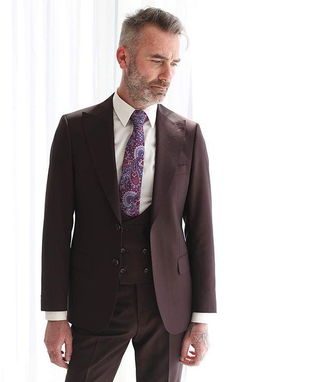 Every gentleman needs to have at least one 3 piece suit in his wardrobe! - - - #mensfashion #suits #toronto