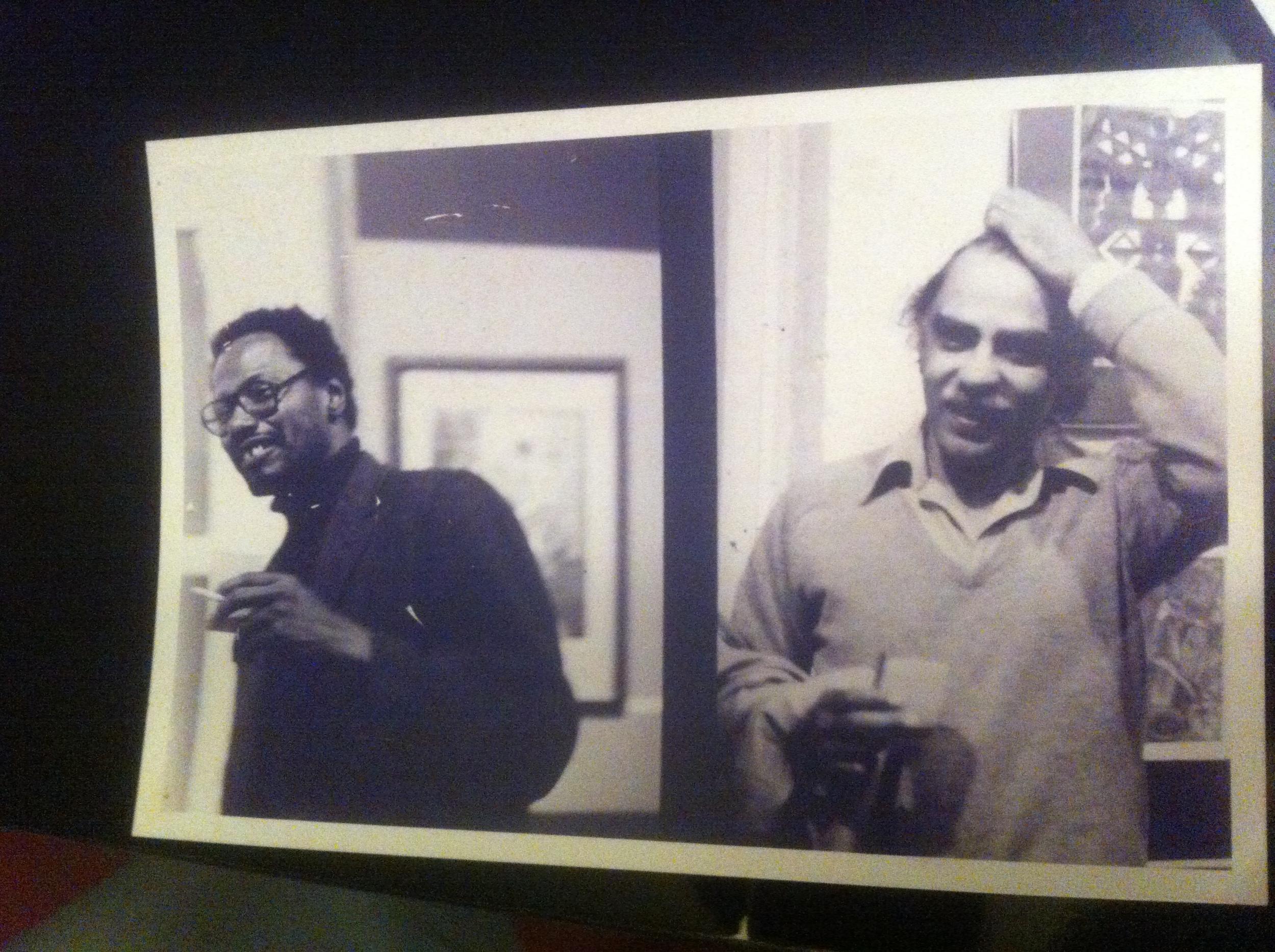 Steve and Ed Clark