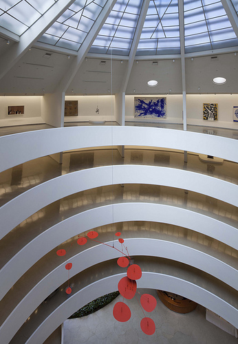 Installation view: Art of Another Kind: International Abstraction and the Guggenheim, 1949-1960, Solomon R. Guggenheim Museum, June 8-September 12, 2012