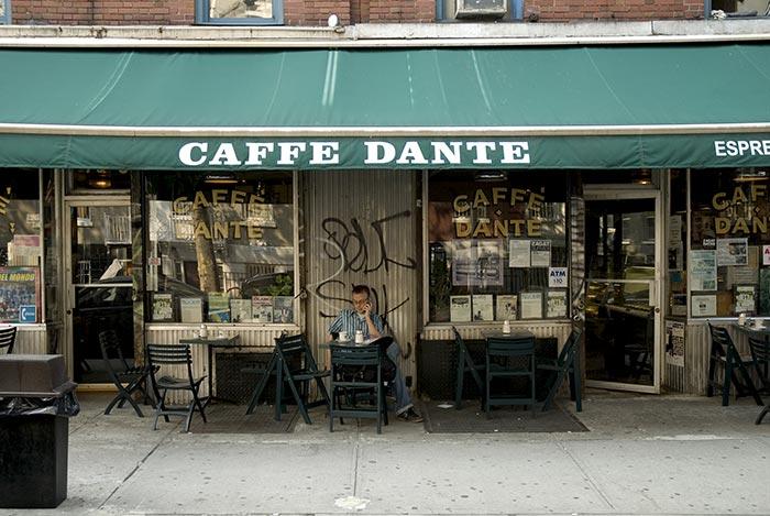 Caffe Dante - MacDougal St.