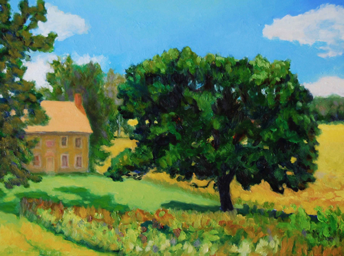 Valley Forge Farmhouse, Summer by Jeff Thomsen