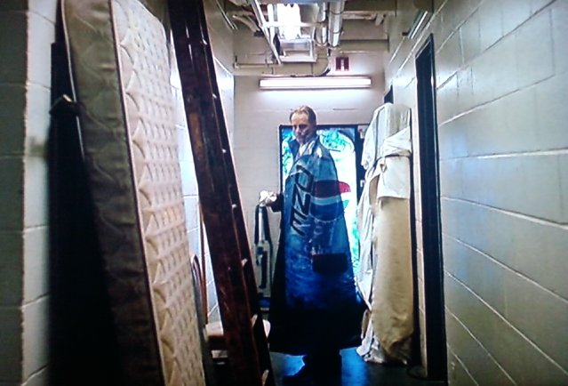 Shepard as The Ghost of Hamlet's Father in Hamlet(dir. Michael Almereyda, Buena Vista Pictures, 2000)