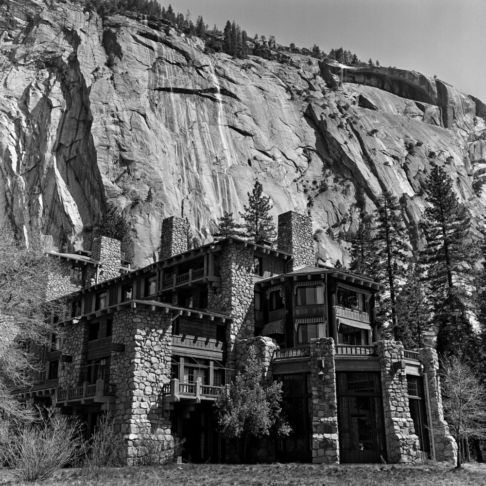 The Ahwahnee Hotel in 1980. Because of a trademark dispute, it has been renamed the Majestic Yosemite Hotel. CreditGeorge Rose/Getty Images