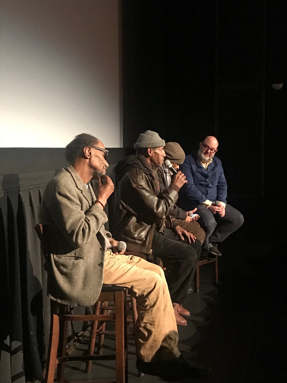 Q&A with producer Steve Cannon and co-producer Ishmael Reed.