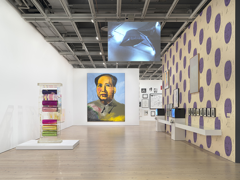 Andy Warhol, installation view, Whitney Museum