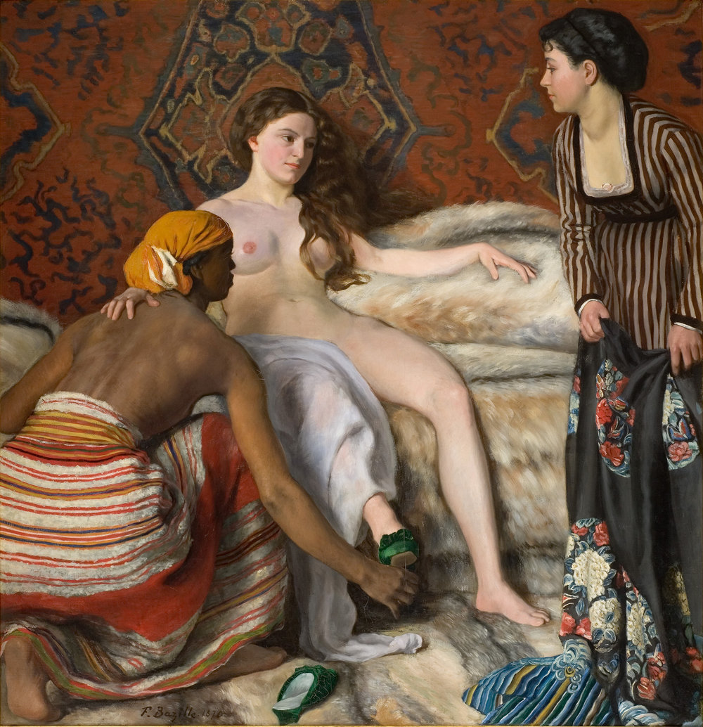 Frédéric Bazille,  La Toilette, 1869-1870