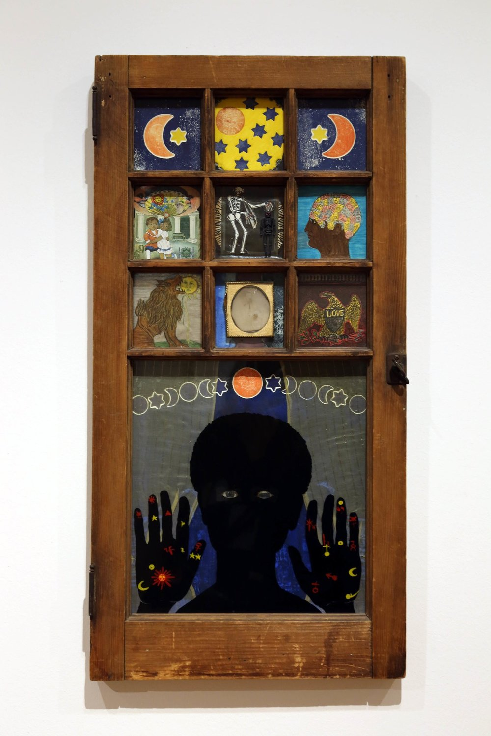 """Betye Saar's """"Black Girl's Window"""" (1969), featured in the exhibition """"Take an Object"""" at MoMA.CreditHiroko Masuike/The New York Times"""