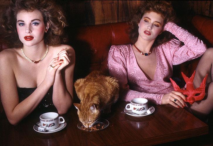 Guy Bourdin for  Vogue France , Styling:Martine de Menthon