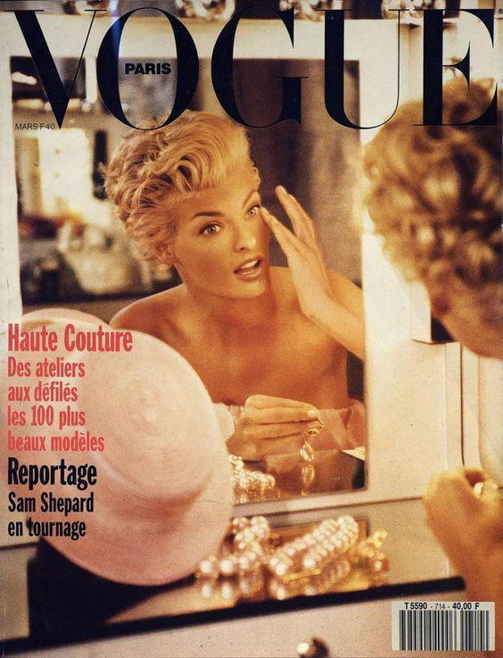 Linda Evangelista for  Vogue Paris