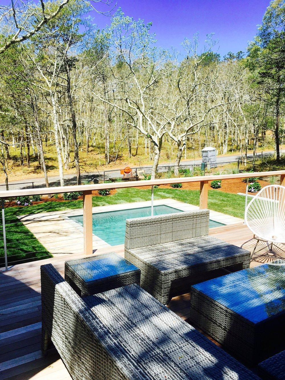 Wellfleet backyard