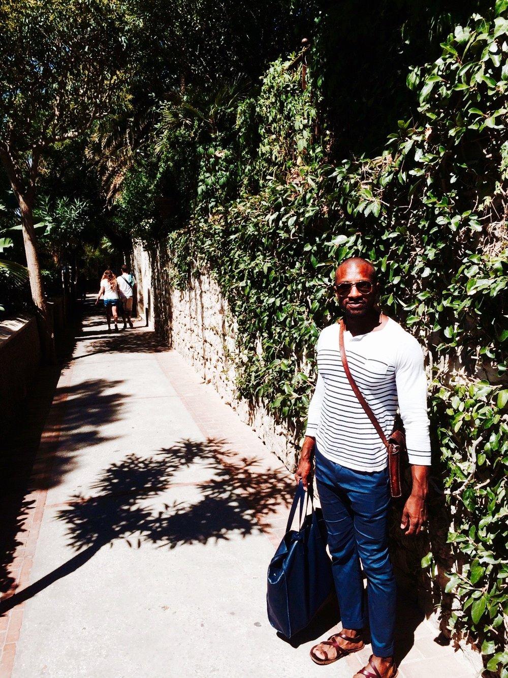 Darrin in Capri