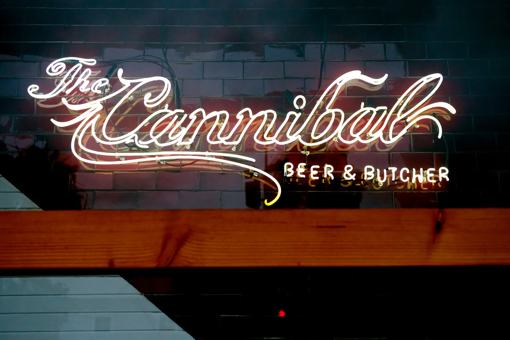 cannibal sign