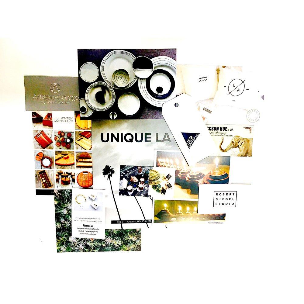 Darrin's Unique LA collage