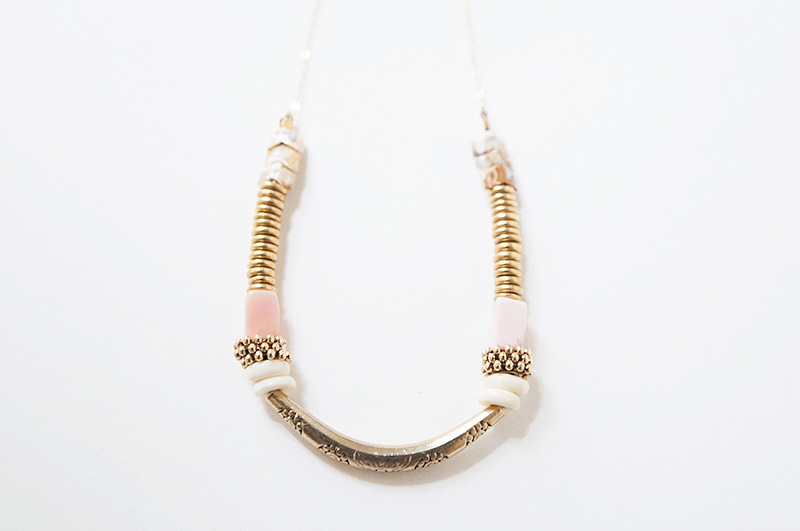 Pink Midnight Necklace