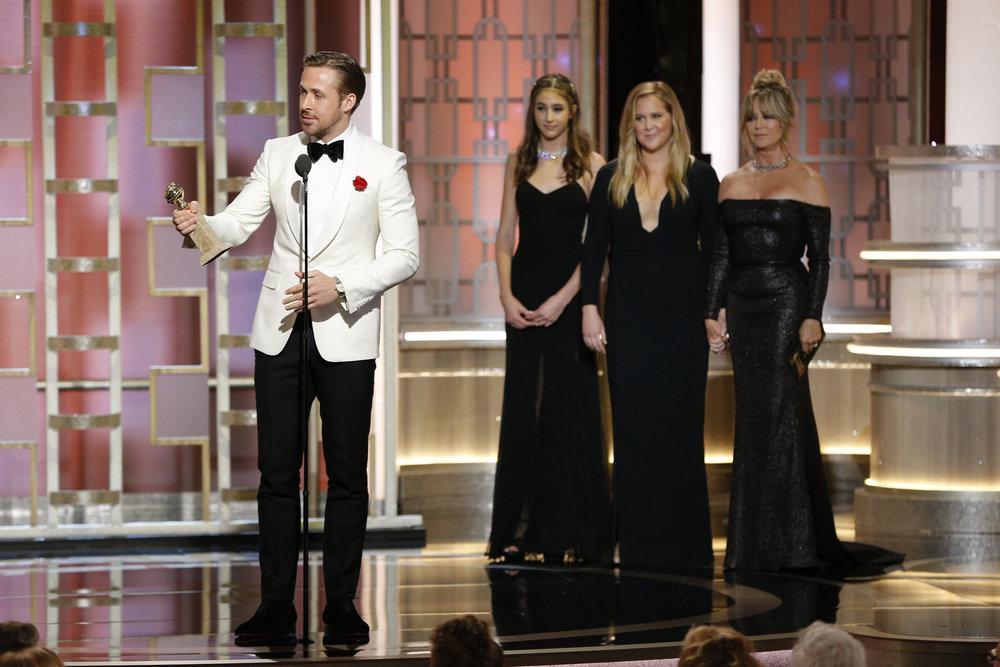 Gosling Golden Globes 2017