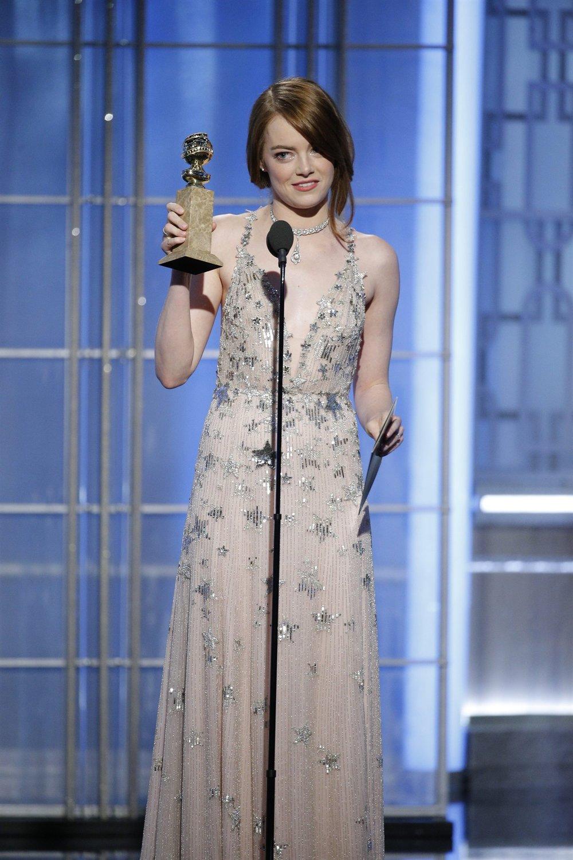 Emma Stone Golden Globe 2017