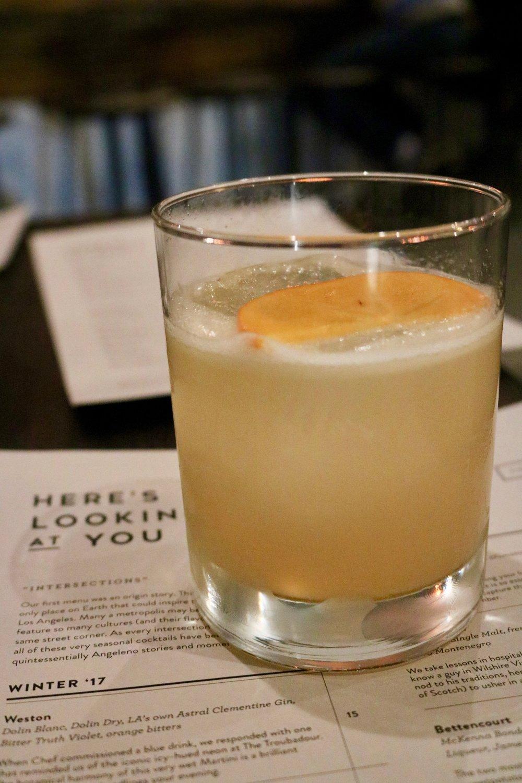 Folk Hero Cocktail