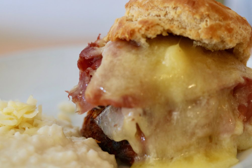 Egg Restaurant's Country Ham Biscuit