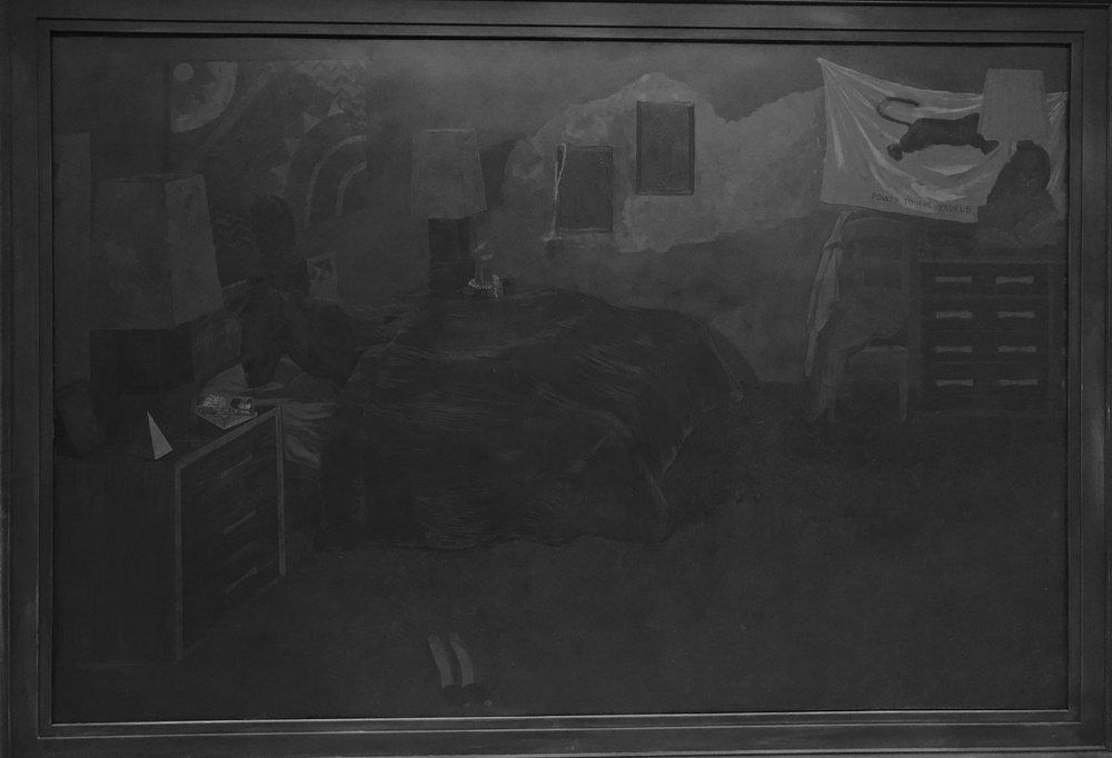 KJM Black Painting