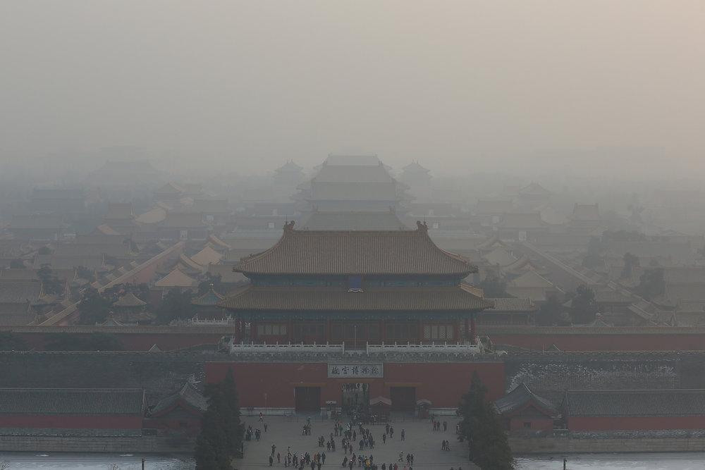 Beijing, China smog
