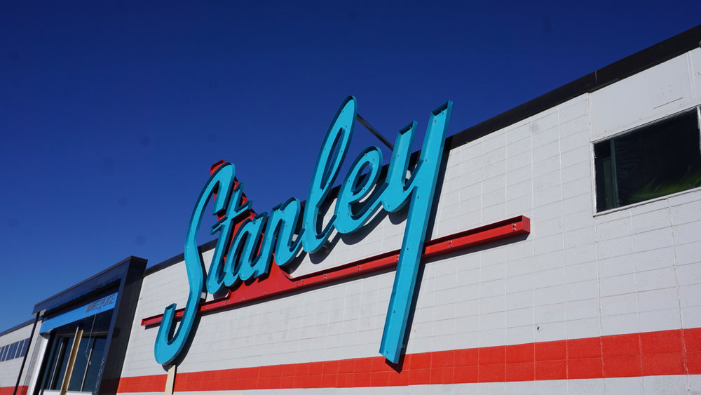 Stanley Marketplace Sign
