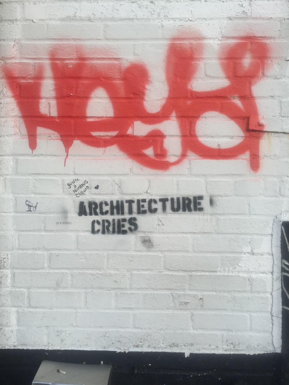 Graffiti in Brooklyn, NY