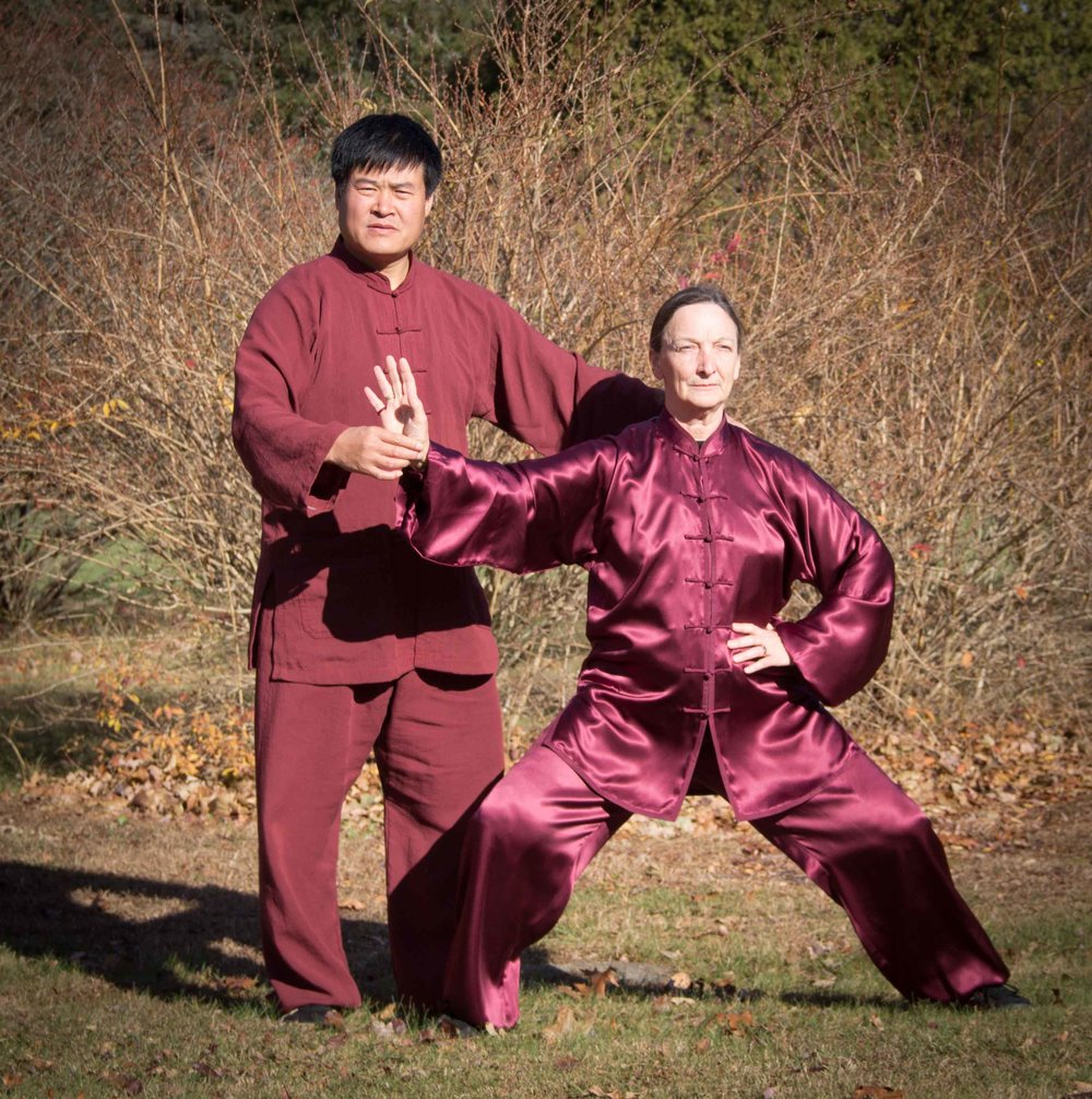 Wang Hai Jun with Leslie, Granby, MA