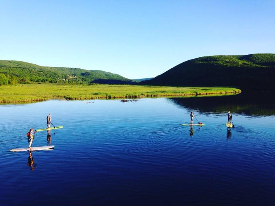 A leisurely morning paddle taking you around the vibrant tributaries of East Margaree. Beginning at Levy's Bridge (just below Larche Wood Enterprises), the tour includes a thorough lesson as you paddle around the River. Let the stunning valley views and be the back drop to a revitalizing morning on the Cabot Trail.     Start times: 9am. $55