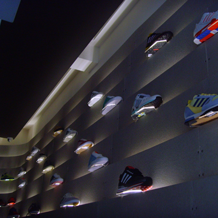 adidas store design interior, Carnaby Street London