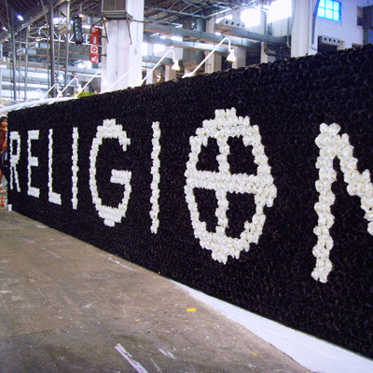 Religion clothing trade stand, Barcelona