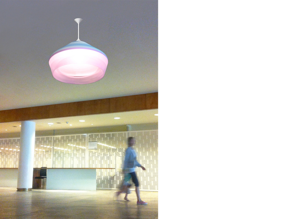 The Flying Skirt Chandelier