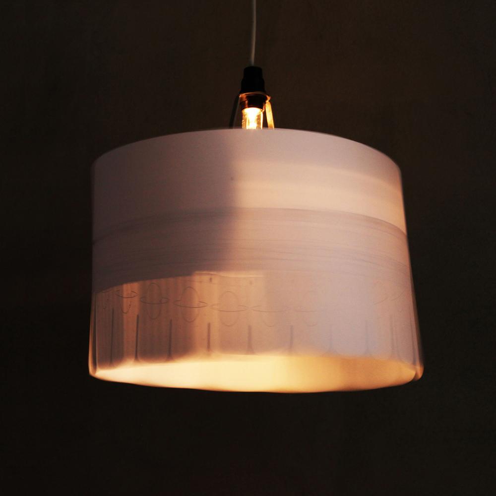 Zoe, a parasitcal zoetrope light shade