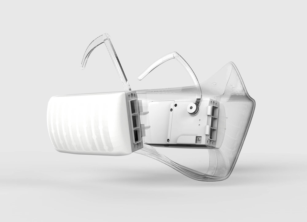 o2o2 anti-pollution facewear mask, Studio Patrick Laing