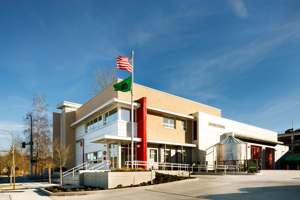 Issaquah Fire Station 72 designed by Seattle Fire Station Design Expert TCA Architecture