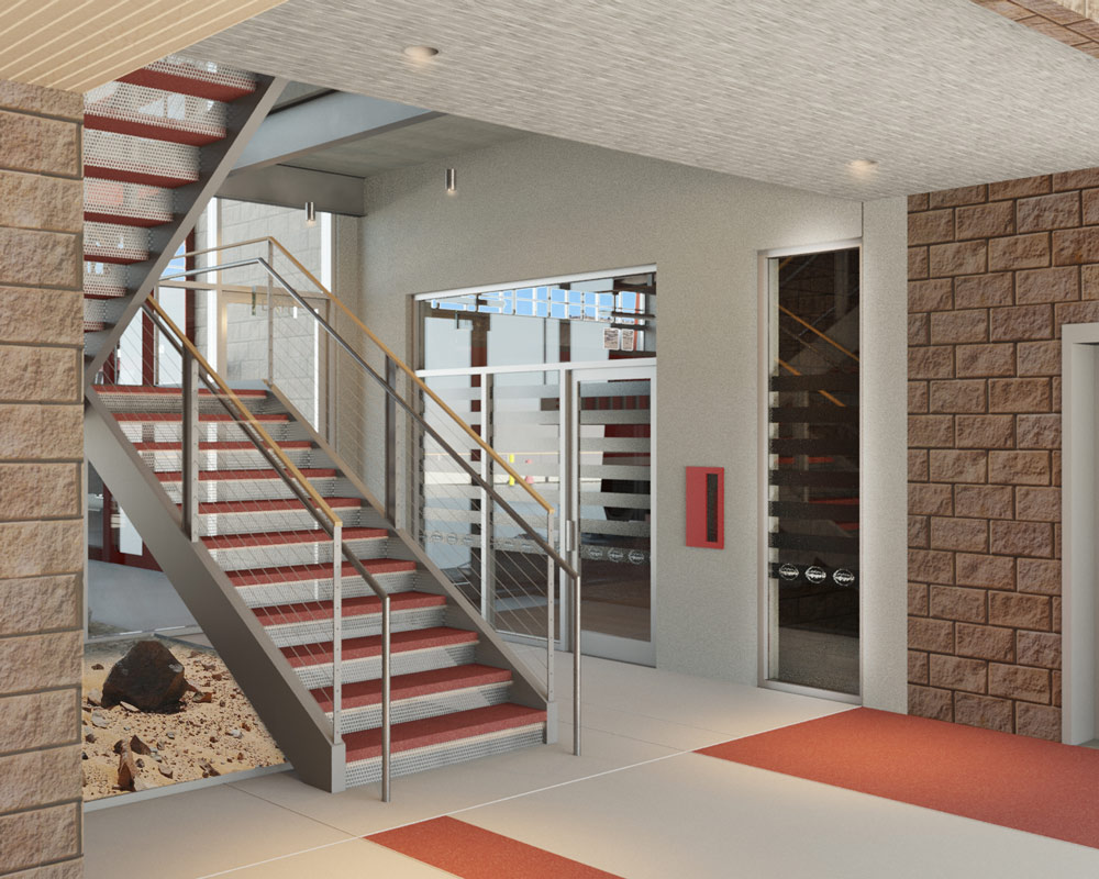 Grand Coulee Dam Fire Station by Seattle Fire Station Design Expert TCA Architecture