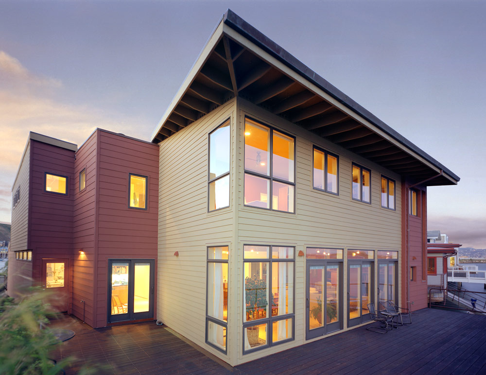 Seattle Residential Architect TCA Architecture designed this beautiful high end residential property on the water