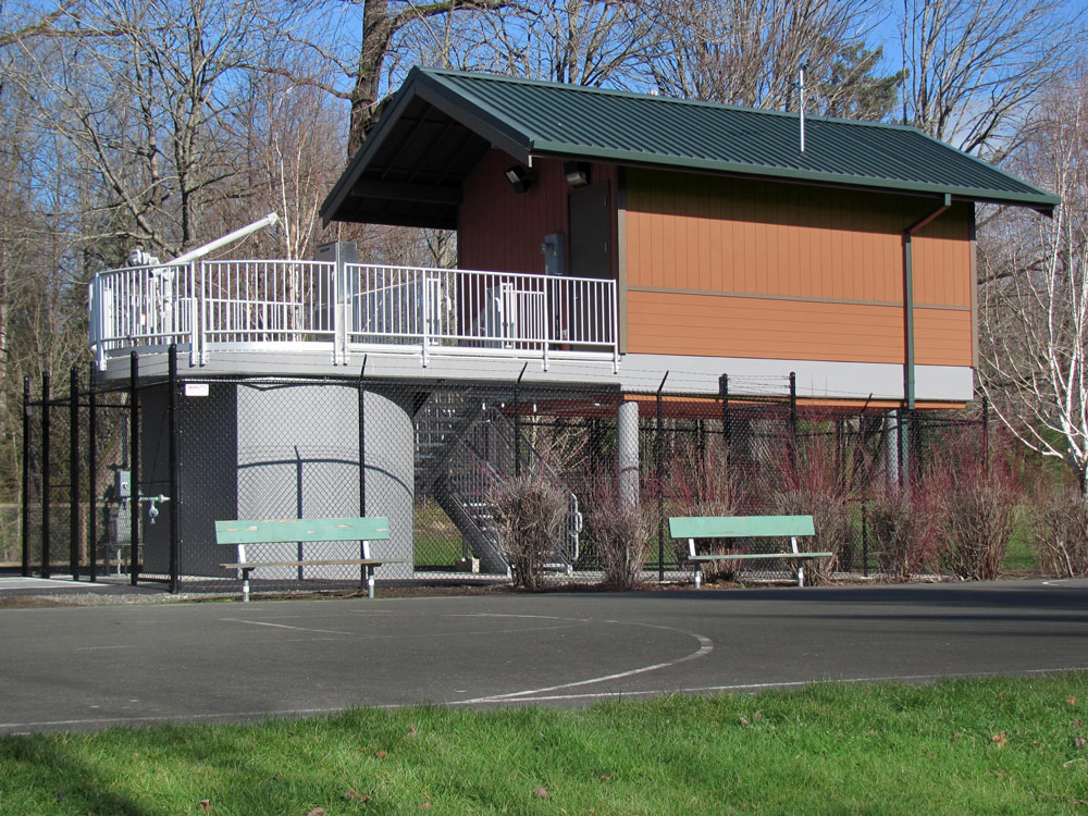 Snoqualmie Pump Station designed by Seattle Architect TCA Architecture