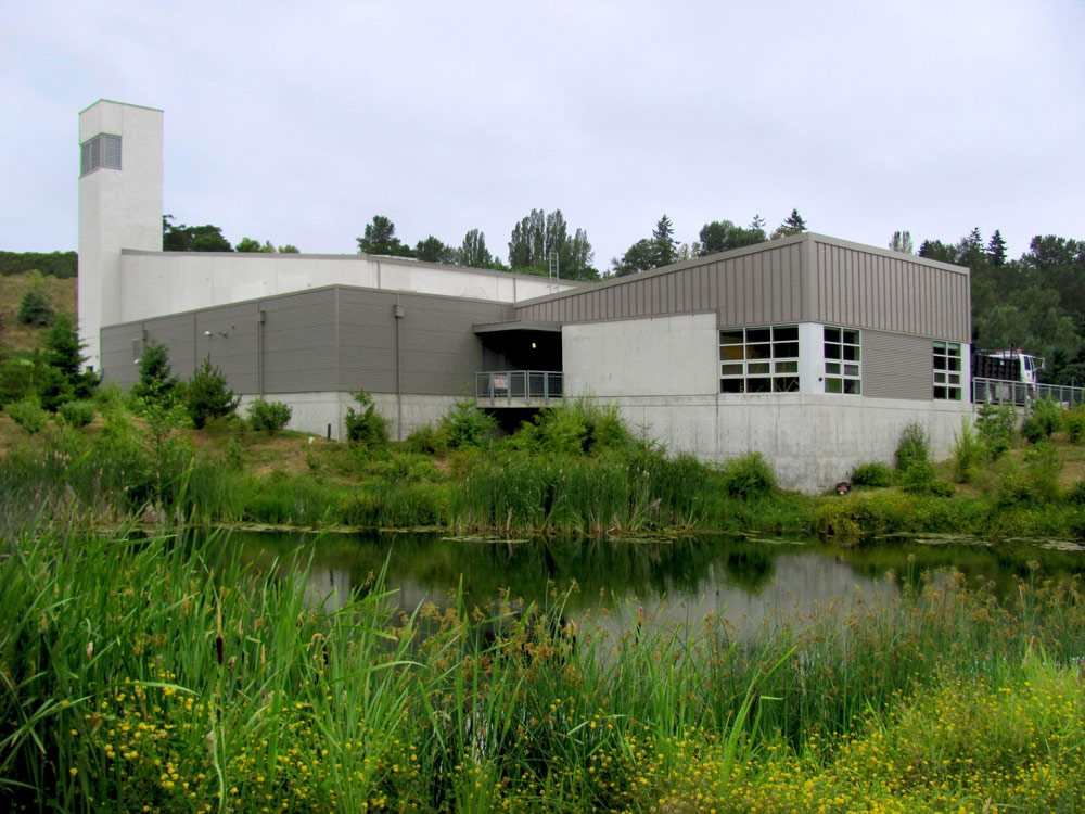 Seattle Joint Training Facility by Seattle Architect TCA Architecture