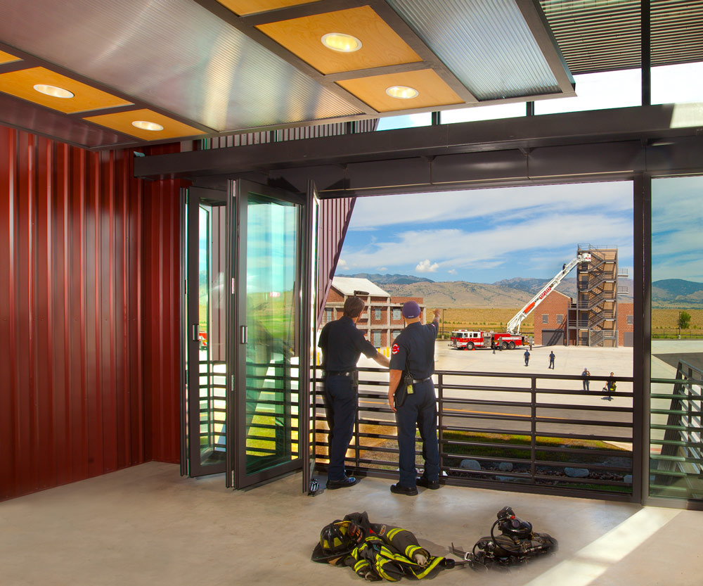 Boulder Fire Training Facility by Fire Station design expert TCA Architecture
