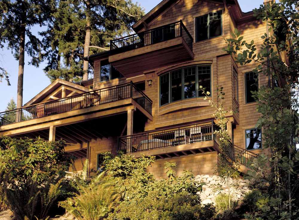 Seattle Residential Architect TCA Architecture designed this beautiful high end Mercer Island Residence