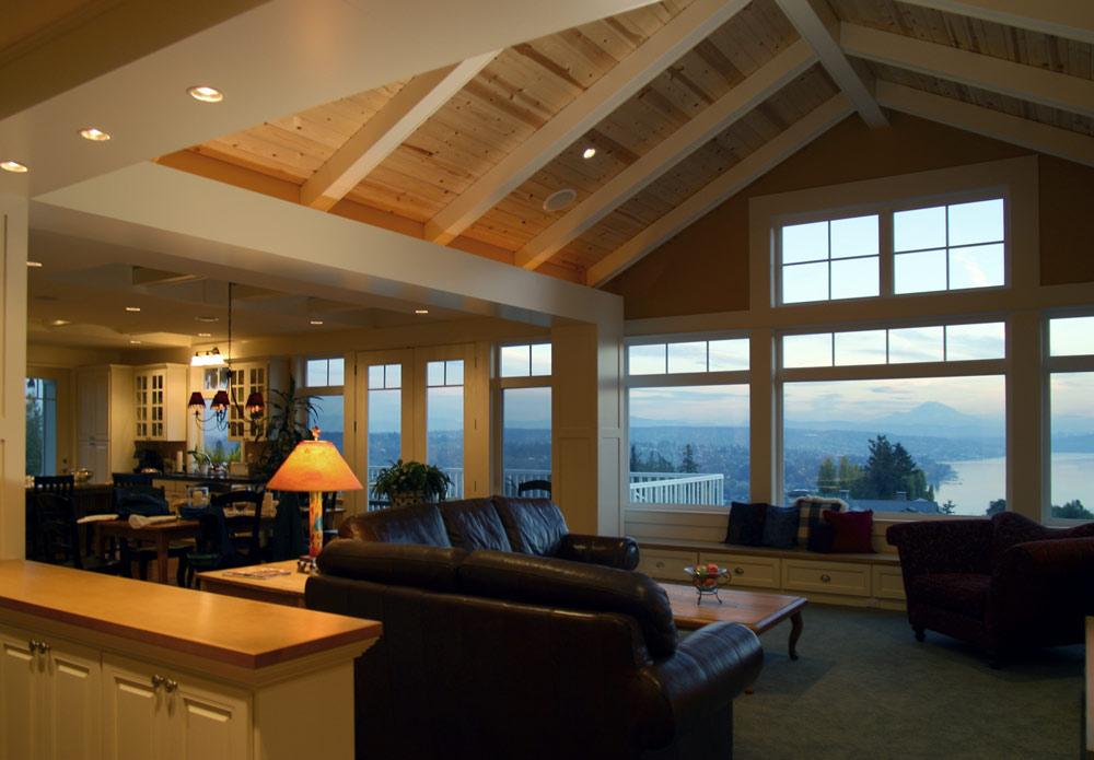 Seattle residential architect TCA Architecture designed this beautiful high end residential property in Kirkland