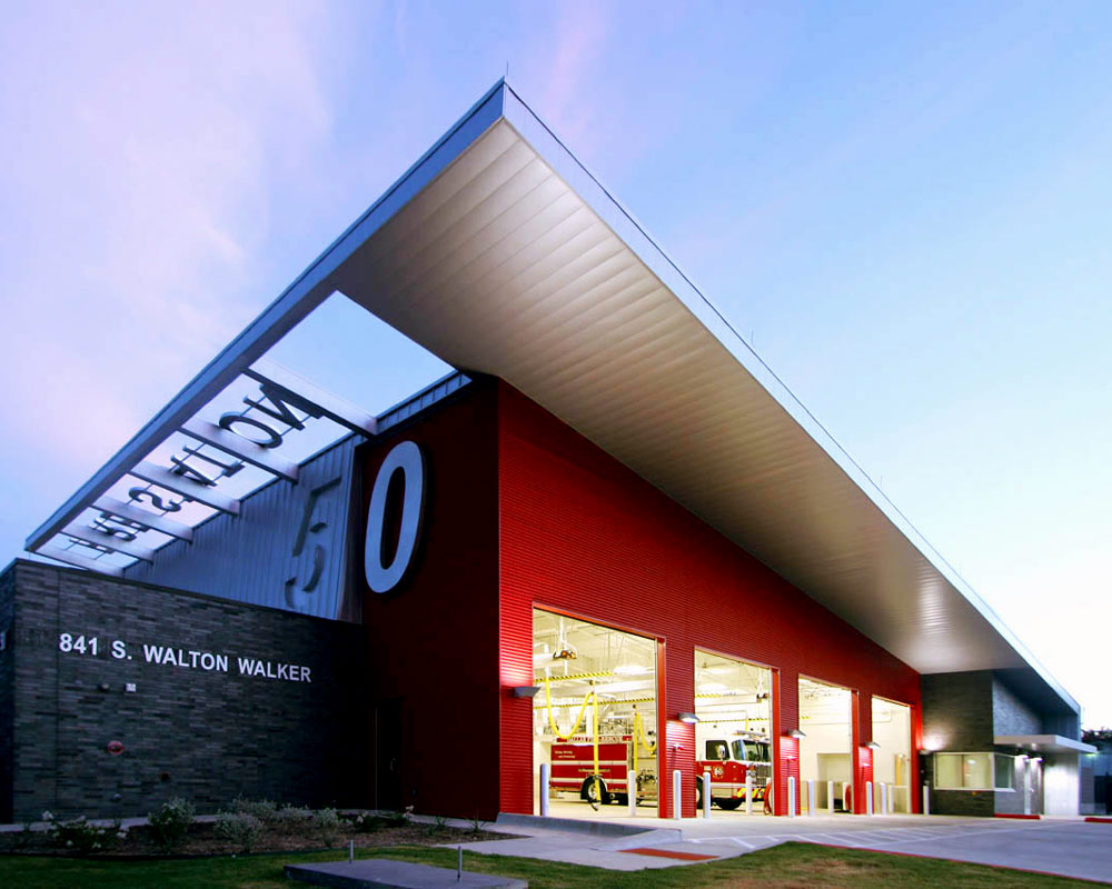 City of Dallas Fire Station 50 by Seattle Fire Station Design Expert TCA Architecture