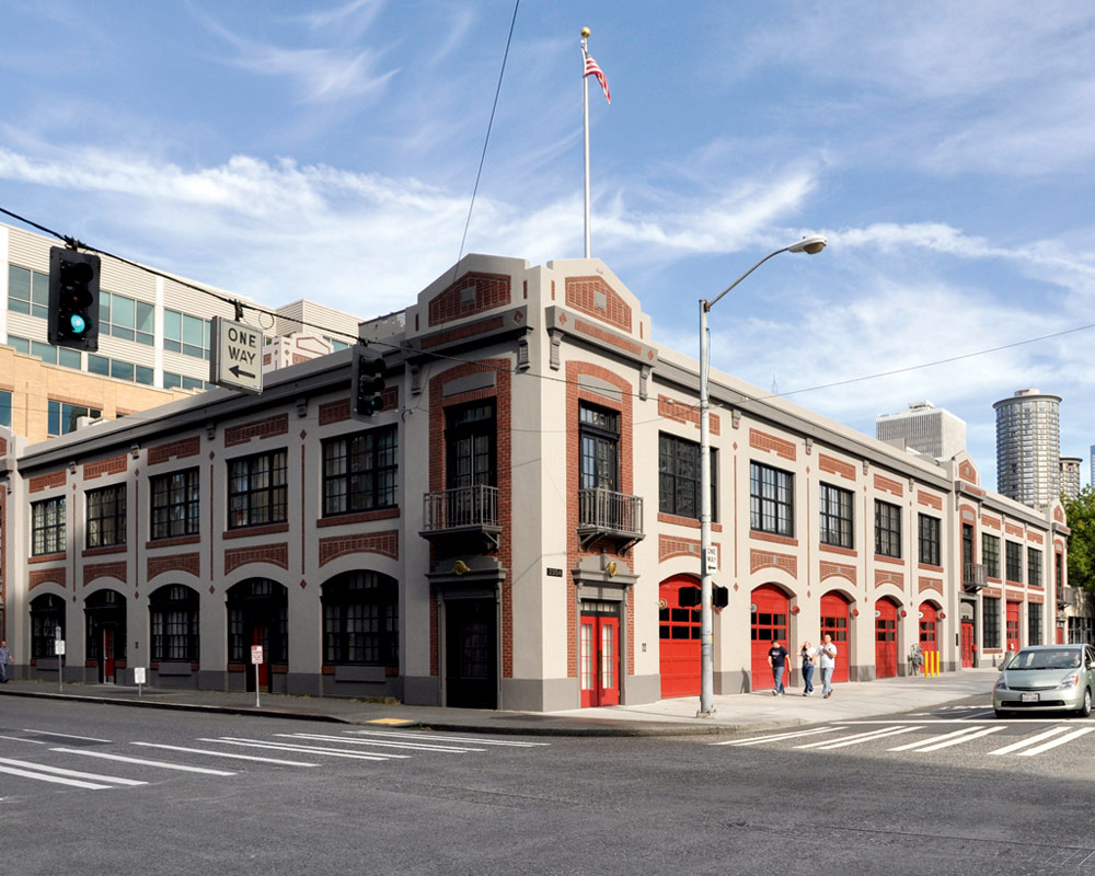 City of Seattle Fire Station 2 by Seattle Fire Station Design Expert TCA Architecture