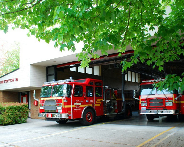 City of Seattle Fire Station Redmodel by Fire Station Design Expert TCA Architecture