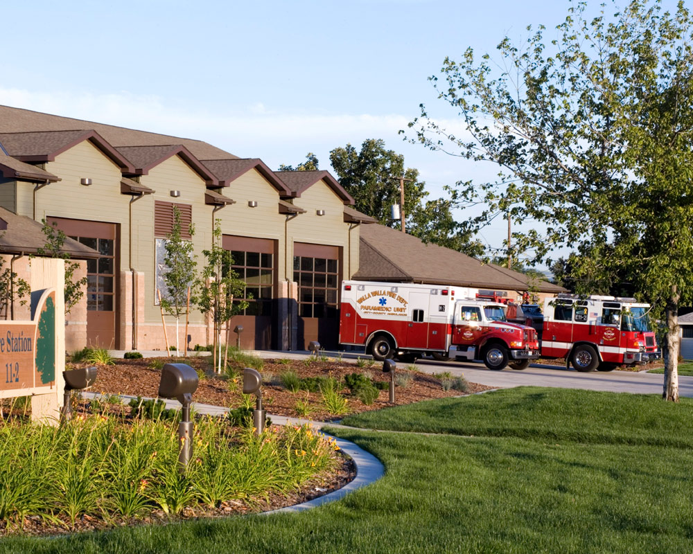 City of Walla Walla Fire Station by Seattle Architect TCA Architecture