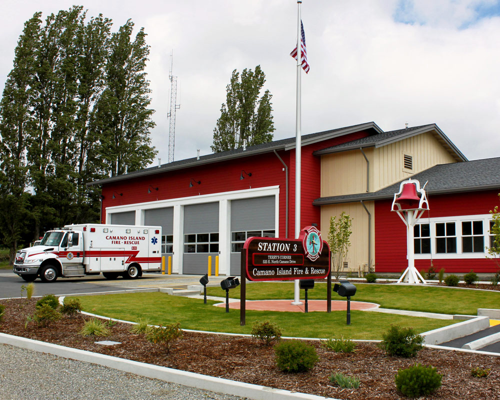 Camano Island Fire and Rescue by Seattle Architect TCA Architecture