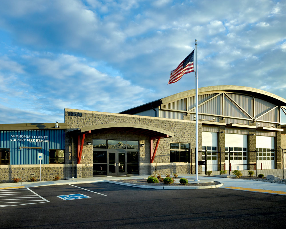 Snohomish County Airport Paine Field ARFF by Seattle Architect TCA Architecture