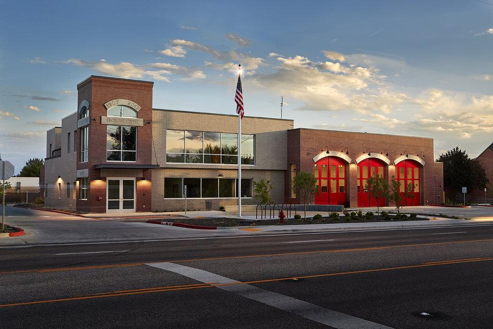 city of boise fire station 4 tca architecture