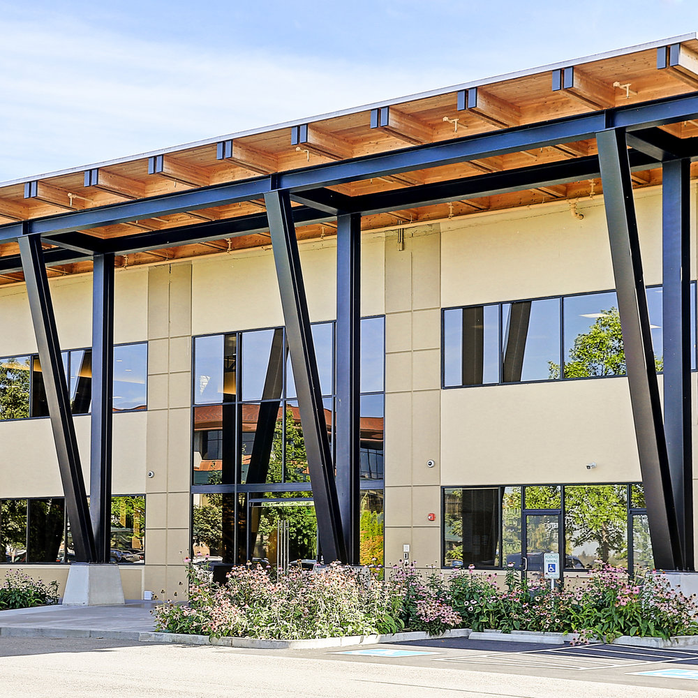 Seattle architects TCA Architecture designed this professional corporate office building